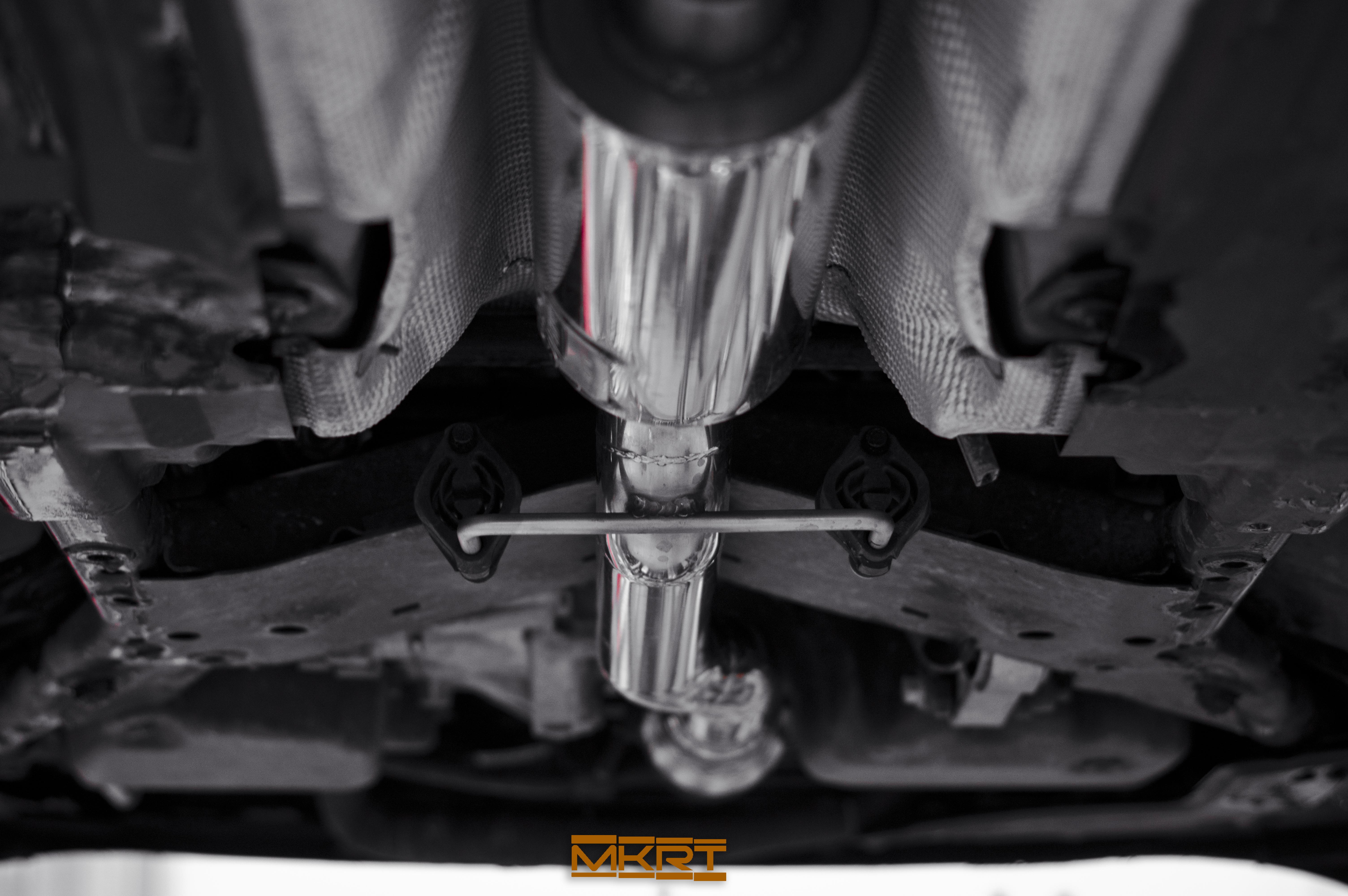 Handgefertigte Abgasanlage für Seat Leon Cupra 5F